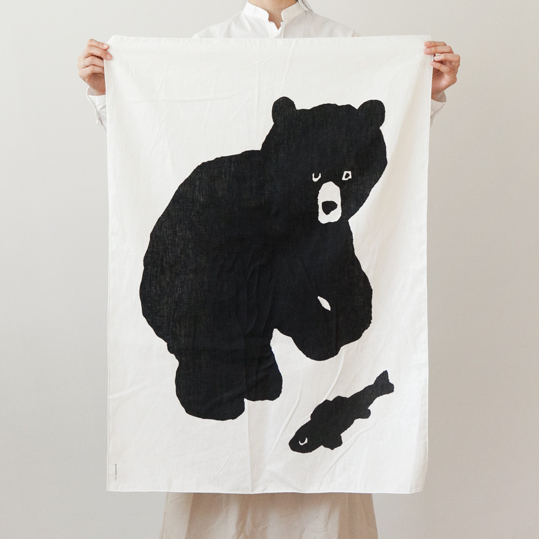 BLACK BEAR FABRIC POSTER