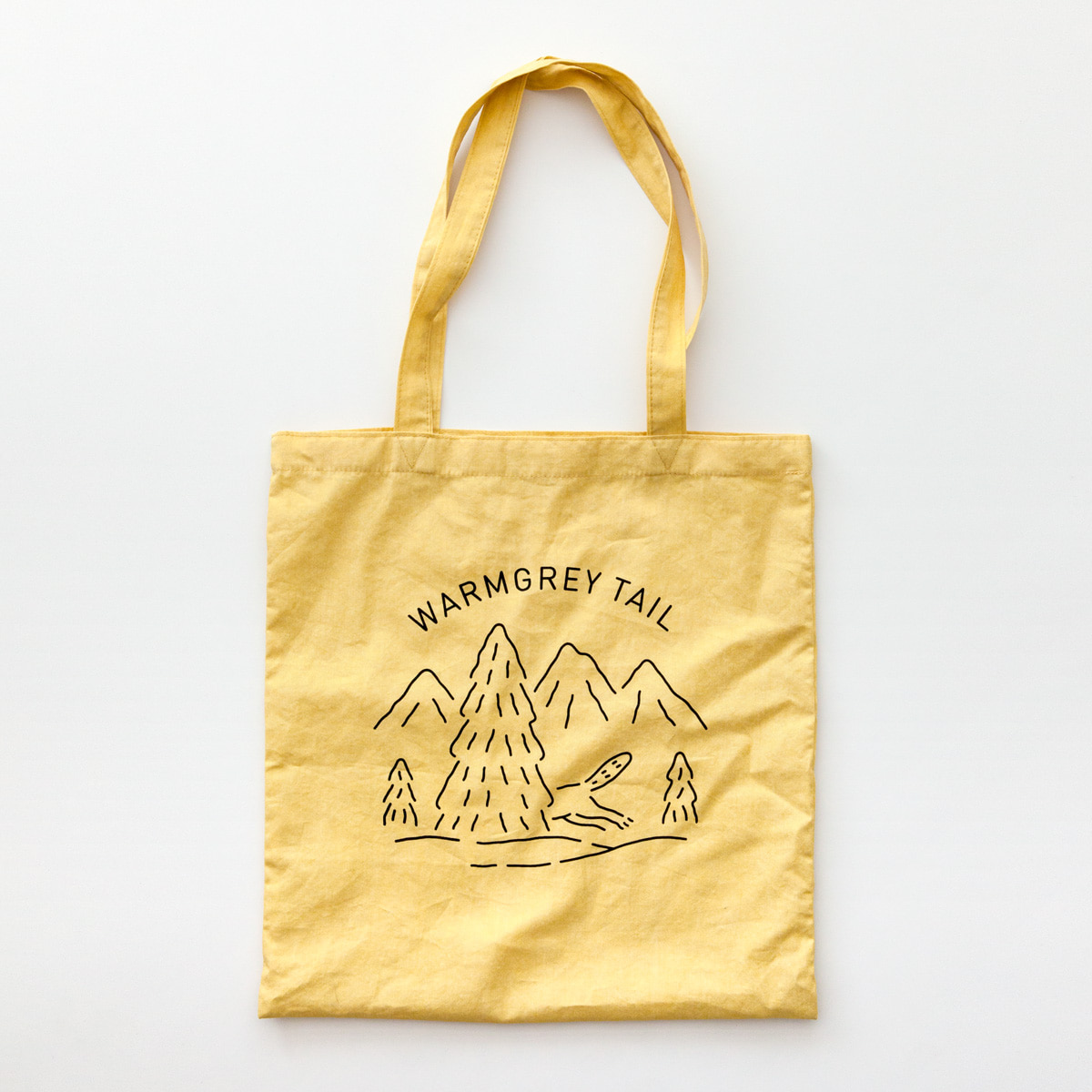 LOGO BAG - CUSTARD YELLOW