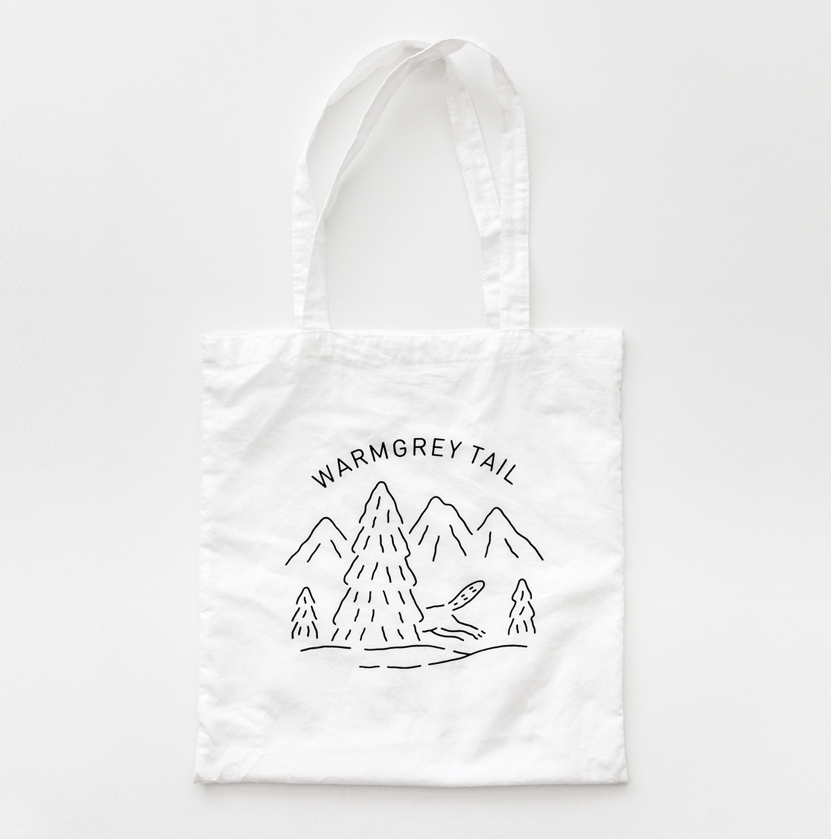LOGO BAG - WHITE