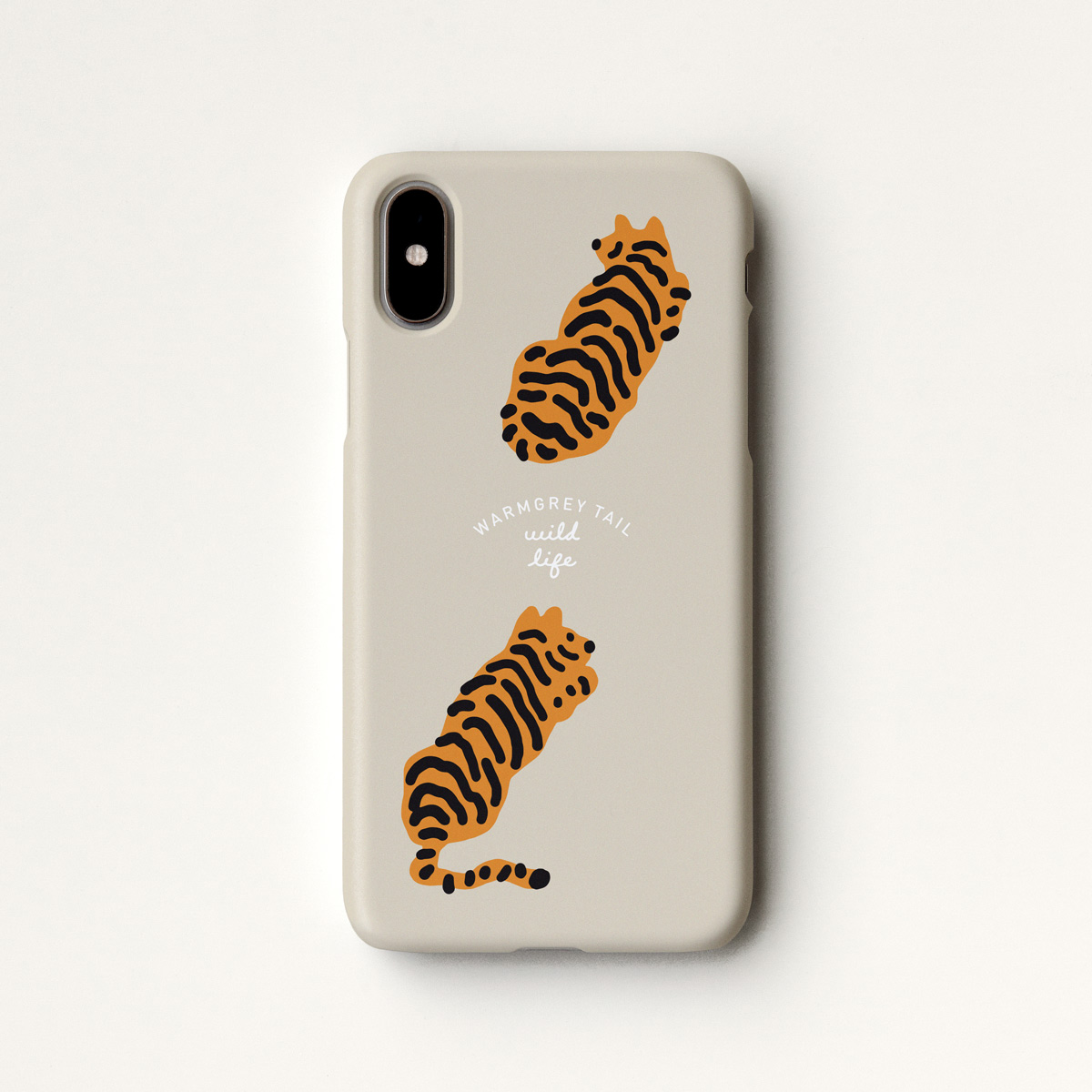 Tigers - Cream Phone Case