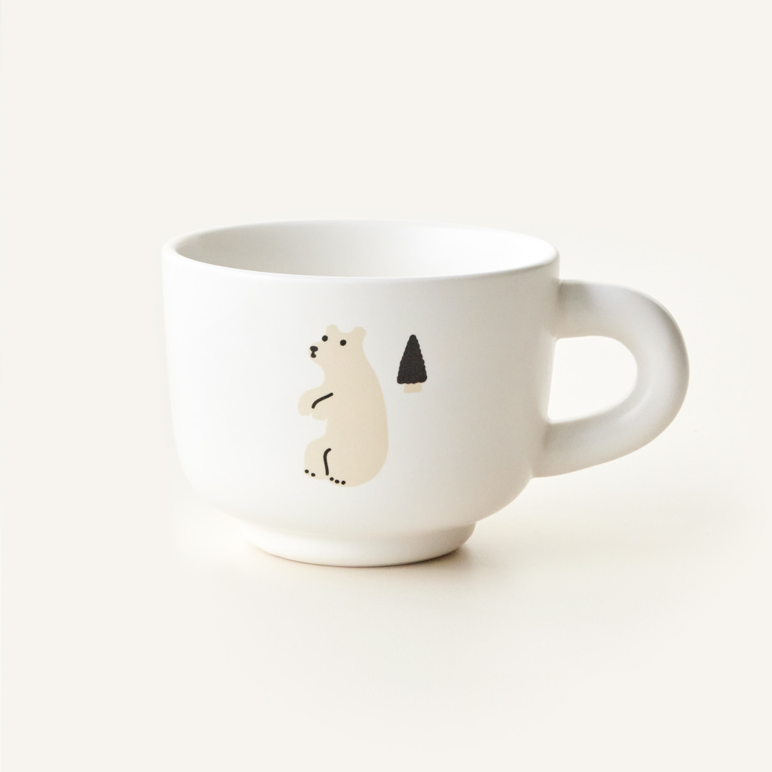TUBE MILK CUP - BEAR