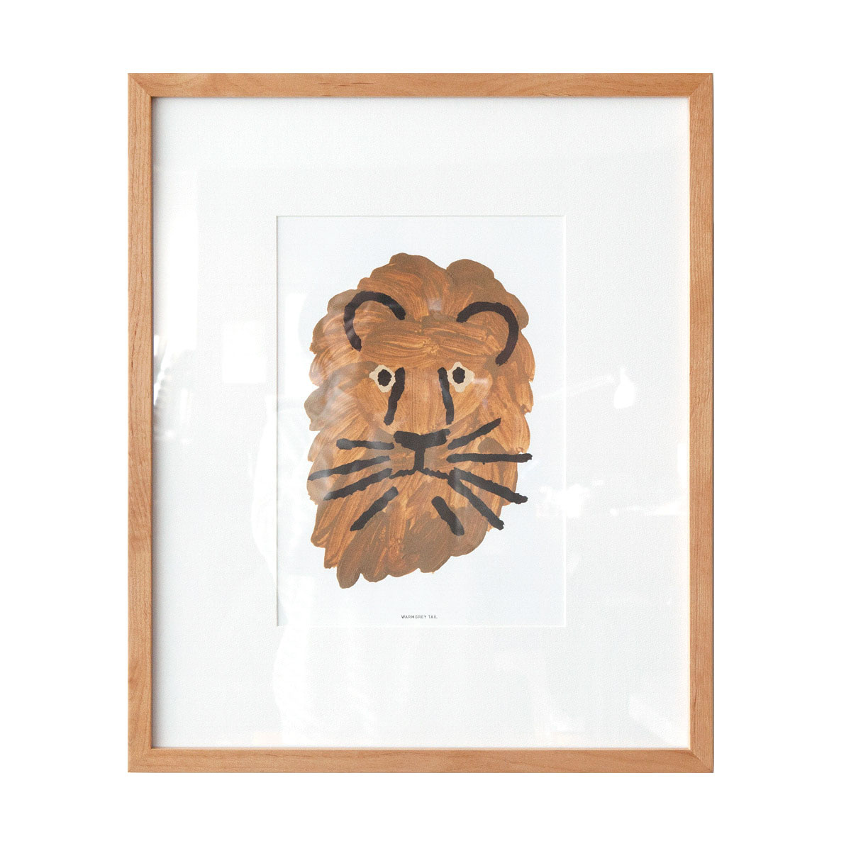 LION SMALL PRINT